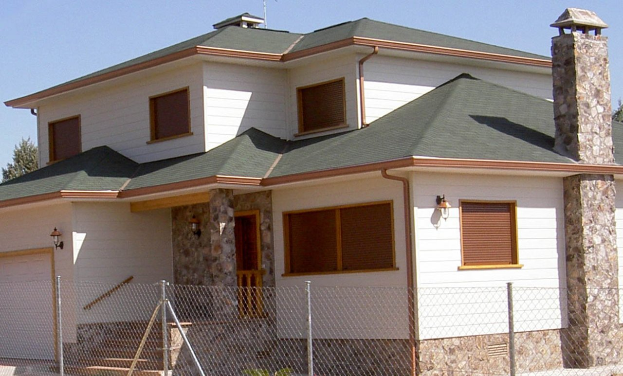 Casas de madera casas canadienses sonas ort madrid - Casas de madera madrid ...