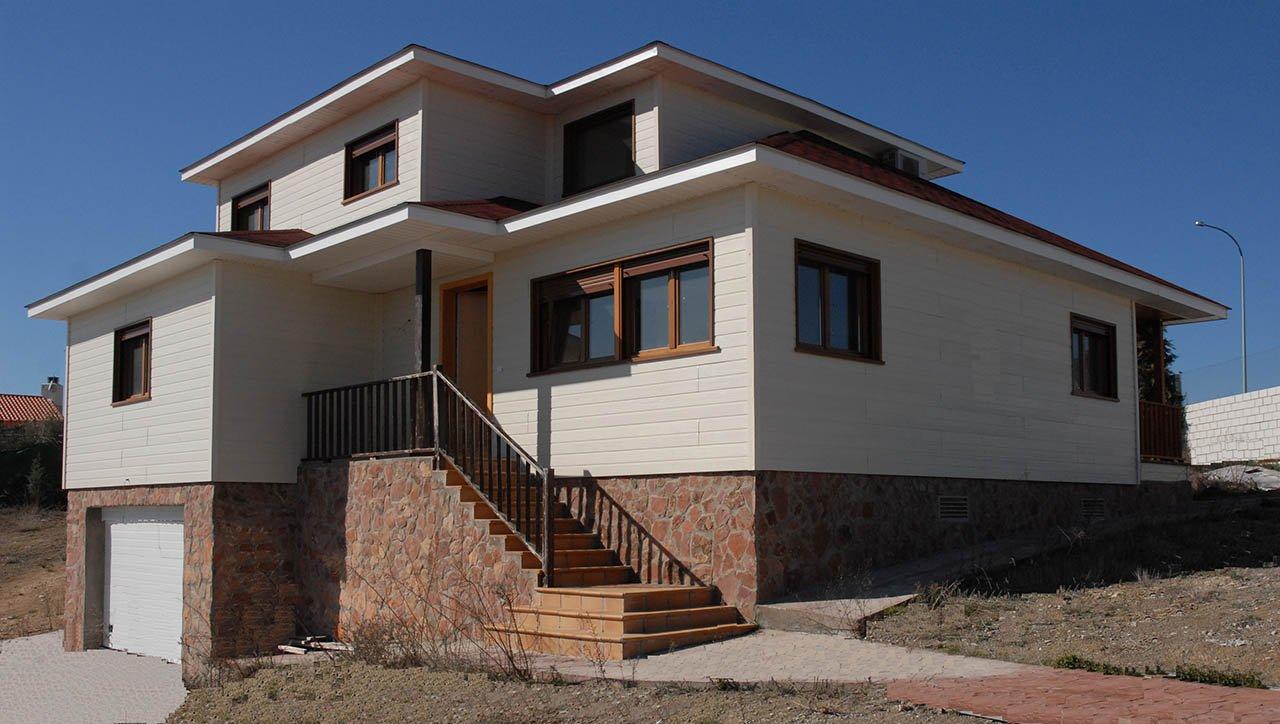 Casas de madera casas canadienses sonas ort madrid - Casas de madera de lujo en espana ...