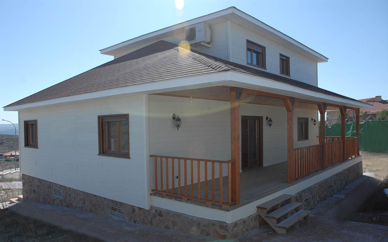 Casas de madera casas canadienses sonas ort madrid - Casas canadienses madrid ...