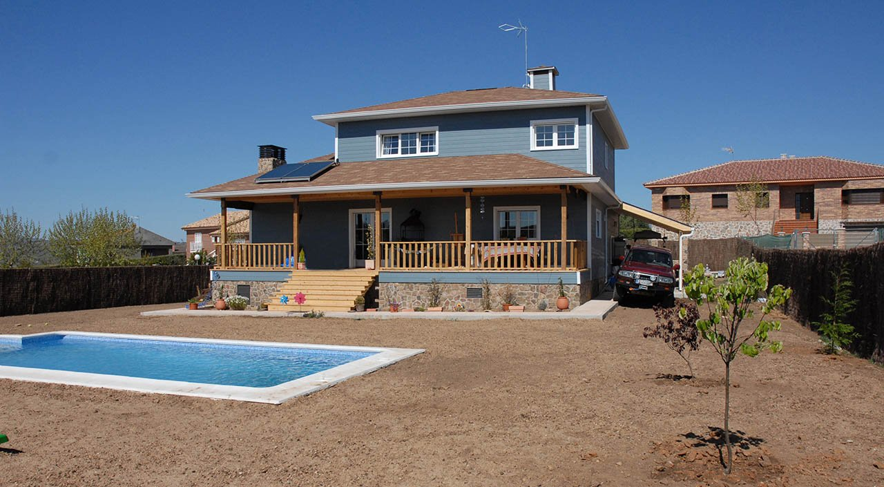 Casas de madera casas canadienses sonas ort madrid - Casas de madera canadienses en espana ...